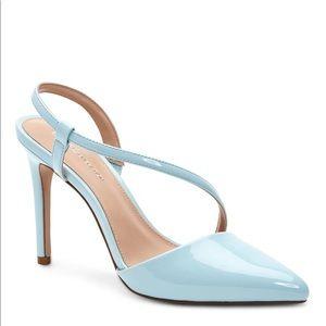 New BCBG Hailey Stiletto mule heels